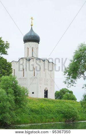 Church of the Intercession on the Nerl in Bogolyubovo near Vladimir, Russia