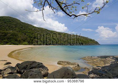 Beautiful beach in Condao island, Vietnam