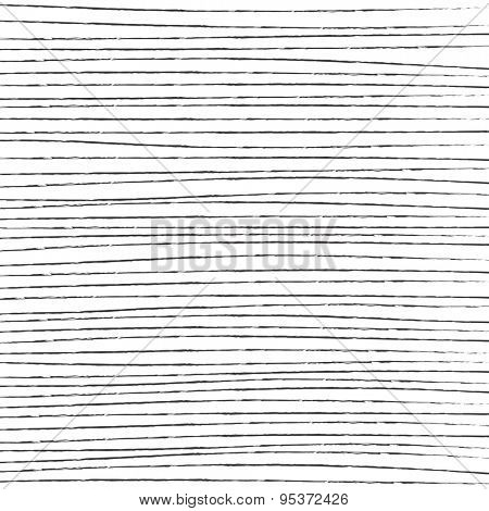 Hand Drawn Simple Straight Lines Vector Background