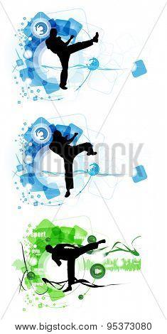 Karate illustration