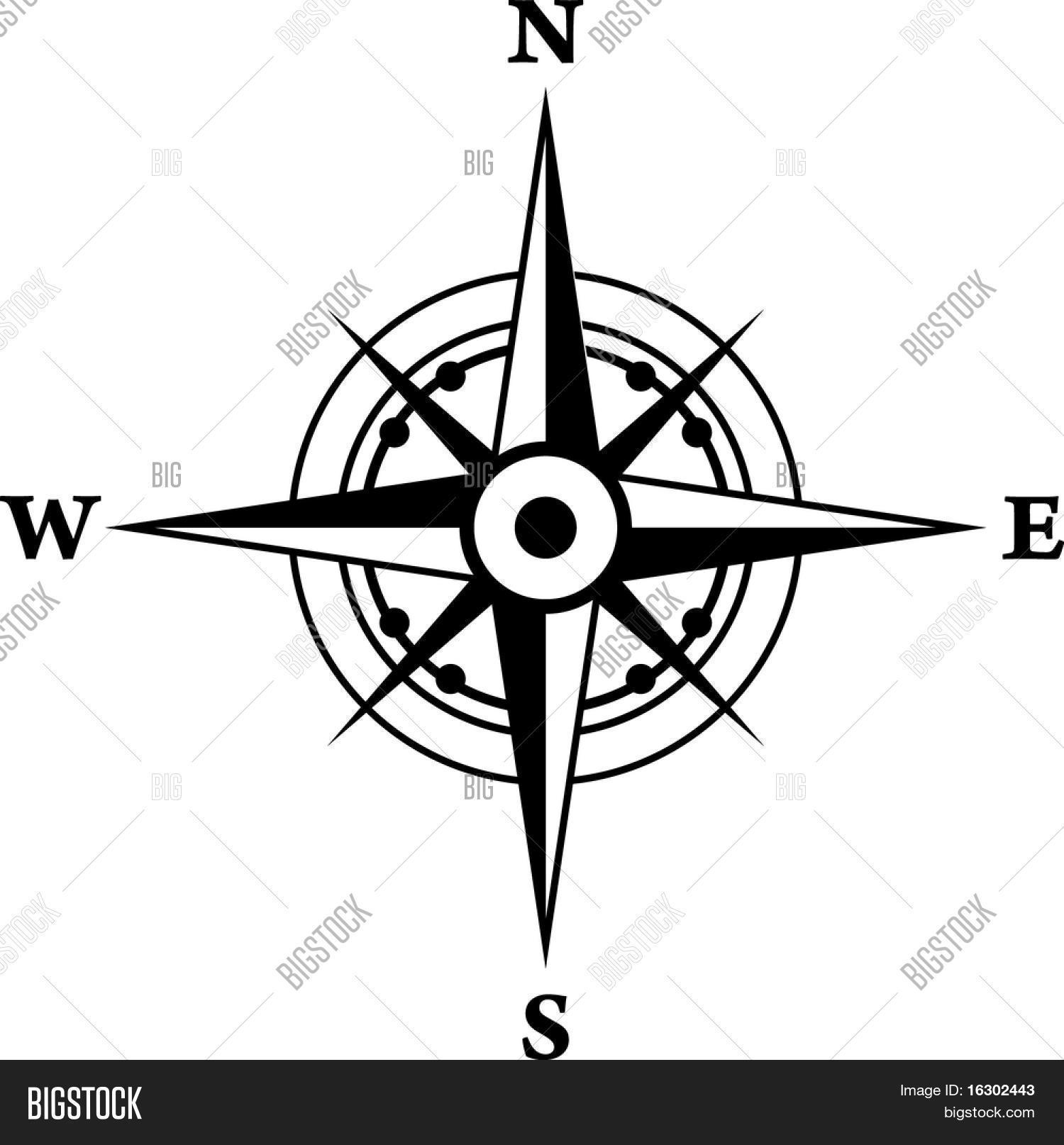 Compass vector photo bigstock compass biocorpaavc Image collections