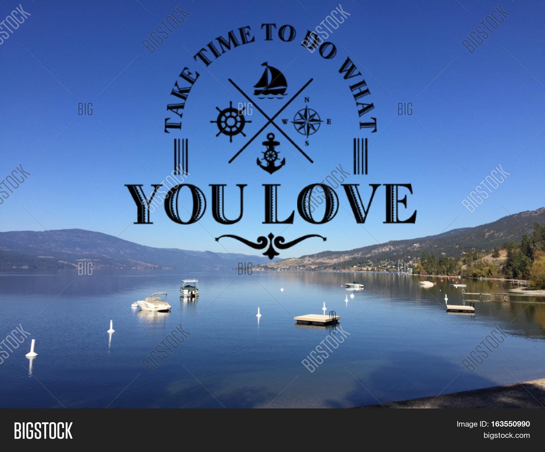 Lake Landscape Image Photo Free Trial Bigstock