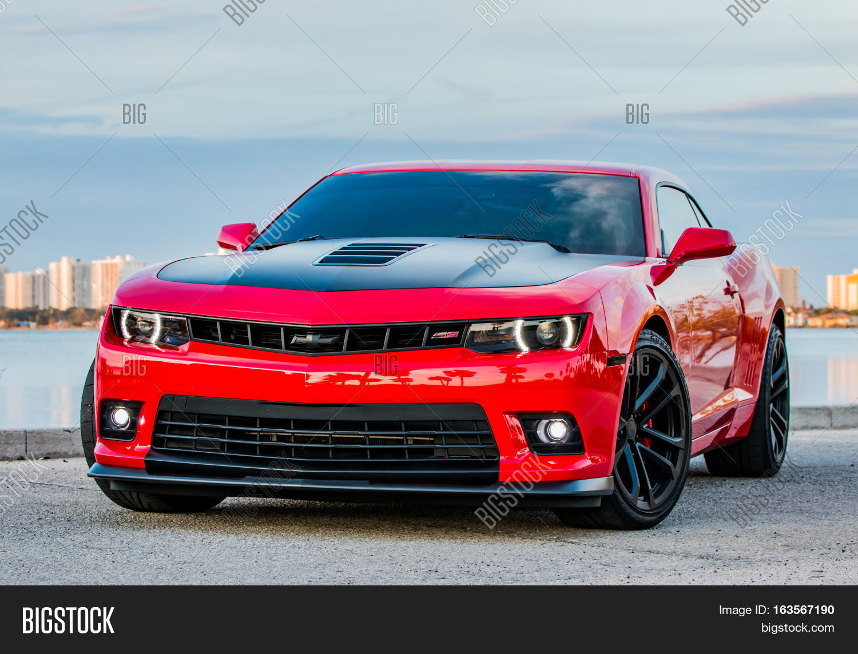 Camaro black and red chevy camaro : December 31, 2016 - Port Orange, Image & Photo   Bigstock