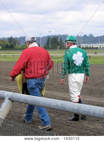 Jockey  And Trainer