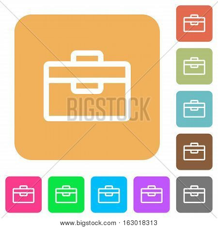 Toolbox icons on rounded square vivid color backgrounds.