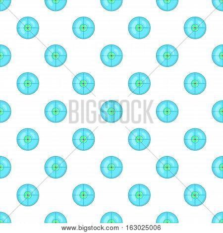 Optical sight pattern. Cartoon illustration of optical sight vector pattern for web