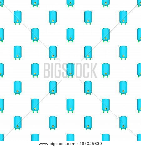 Boiler or water heater pattern. Cartoon illustration of boiler or water heater vector pattern for web