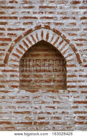 Image of Immured Window in The Brick Wall