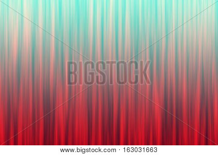 Red blue ombre striped abstract blur. Digitally generated abstract background with blurry vertical lines and gradient coloring.