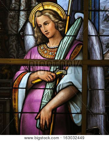 Stained Glass - Allegory On The Suffering Of Jesus