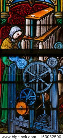 Stained Glass - Silk Mill