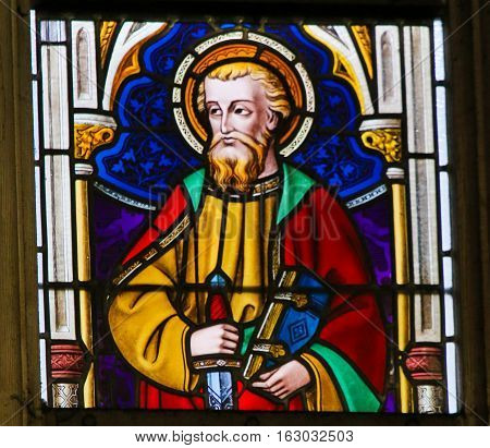 Stained Glass - Saint Paul