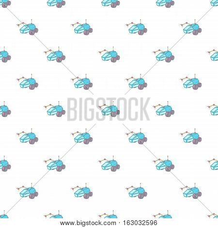 Rover pattern. Cartoon illustration of rover vector pattern for web