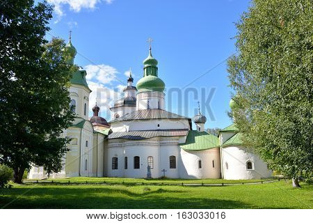 Kirillo-Belozersky monastery near City Kirillov Vologda region Russia.