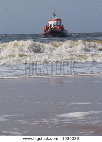 Dutch Lifeguard Boat