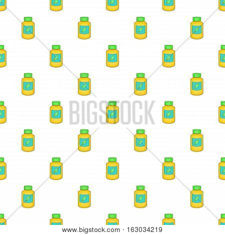 Supplement pattern. Cartoon illustration of supplement vector pattern for web