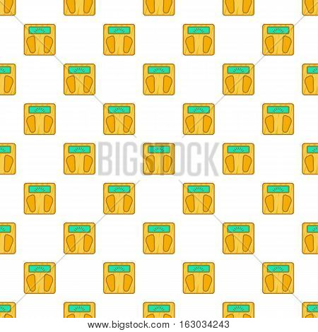 Scale pattern. Cartoon illustration of scale vector pattern for web