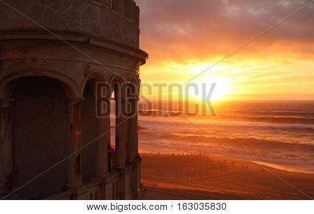 Santa Cruz Beach Sunset, Torres Vedras, Portugal