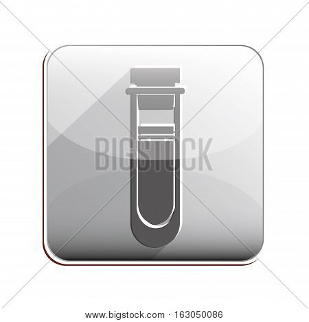 Tube icon. Medical heath care and hospital theme. Isolated design. Vector illustration