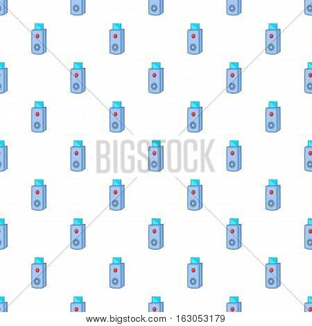 USB flash drive pattern. Cartoon illustration of USB flash drive vector pattern for web