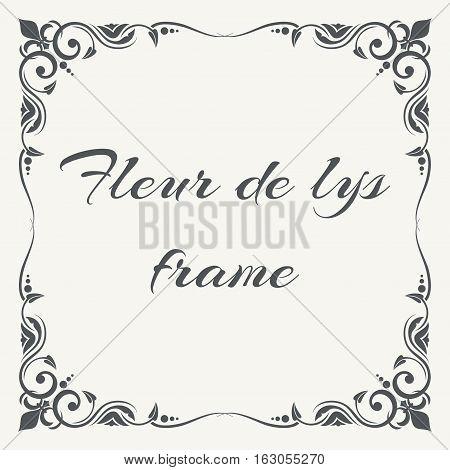 Fleur De Lys Ornate Vector & Photo (Free Trial) | Bigstock