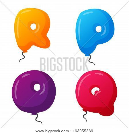 English balloon vector photo free trial bigstock english balloon colorful alphabet on white background holidays and education ozone type greeting helium m4hsunfo