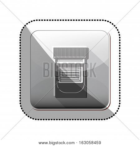 Medicine icon. Medical heath care and hospital theme. Isolated design. Vector illustration