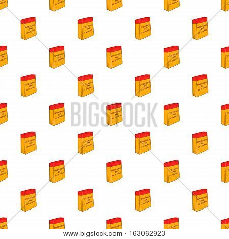 Columbus day of twelfth october pattern. Cartoon illustration of columbus day of twelfth october vector pattern for web