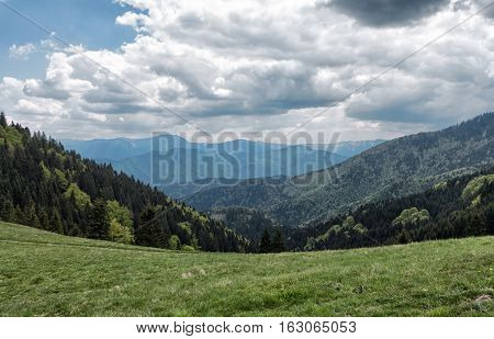 Landscape at Great Fatra mountains in at Slovakia