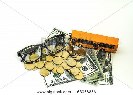 Saving Money For Future Concept