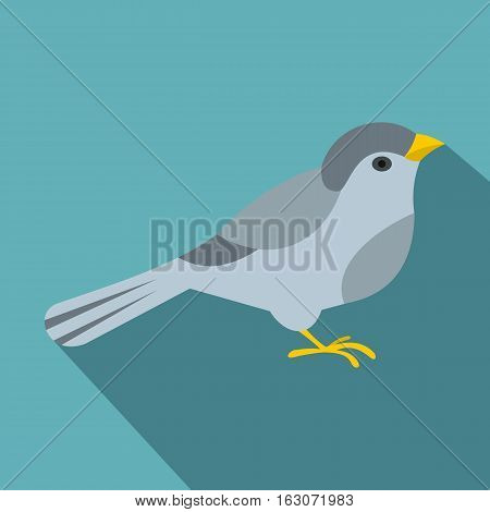Bird icon. Flat illustration of bird vector icon for web