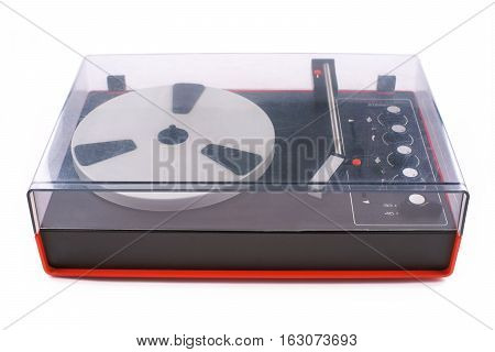 Turntable audio for playback of vinyl records from the 70s of last century