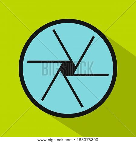Big objective icon. Flat illustration of big objective vector icon for web