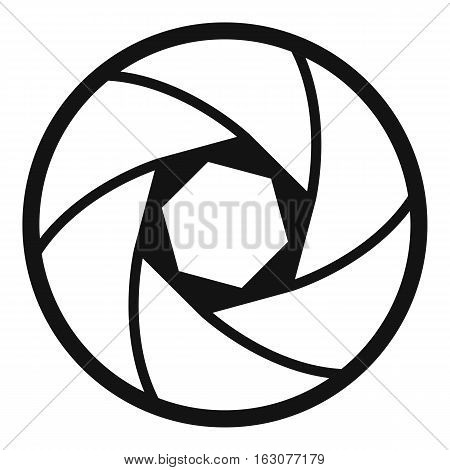 Professional objective icon. Simple illustration of professional objective vector icon for web
