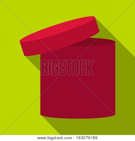 Tall box icon. Flat illustration of tall box vector icon for web