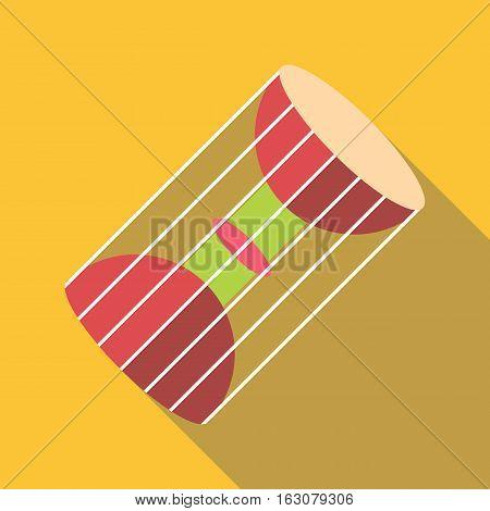 Asian souvenir icon. Flat illustration of asian souvenir vector icon for web
