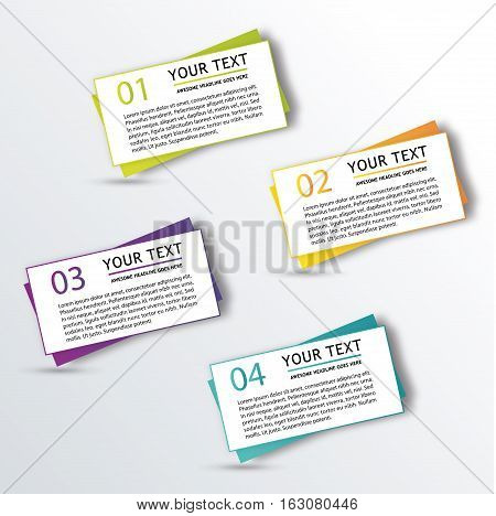 Infographic elements concept. Time line stage. Various business infographic elements. Creative elements. Vector infographic elements. Creative business concept of stage, parts, steps. Business infographic elements. Infographics template.