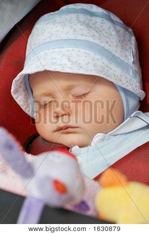 Sleeping Baby Girl.