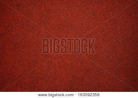 Red carpet texture background , interior detail