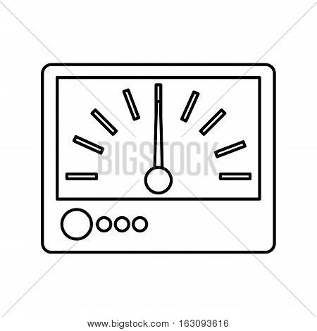 electrical multimeter isolated icon vector illustration design