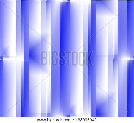 Seamless abstract blue background with dark and light squares, lines, pattern convex