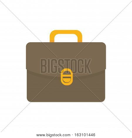 Isolated business briefcase icon vector illustration graphic design