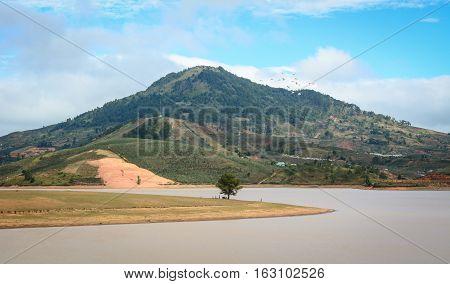 Landscape Of Dalat Highland, Vietnam