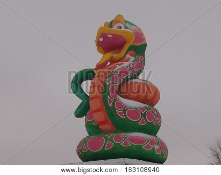 East symbol of New year - the Snake