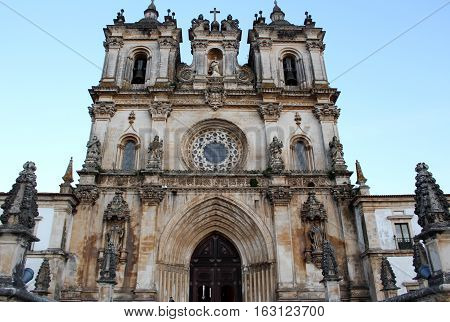 Alcobaça's Monastery, Alcobaça, Portugal. Where King Dom Pedro I and Dona Ines's were buried.