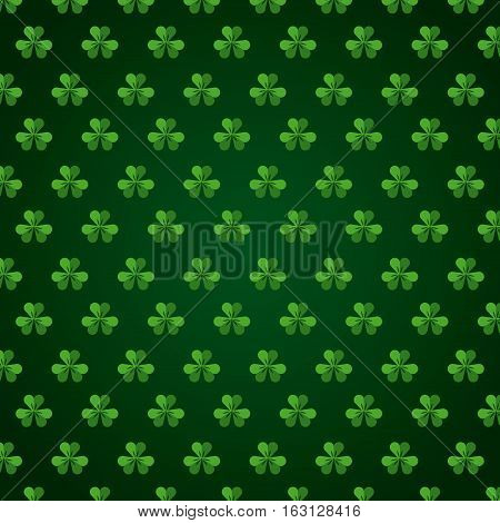 background of clovers icon. colorful design. Saint Patrick's Day concept. vector illustration