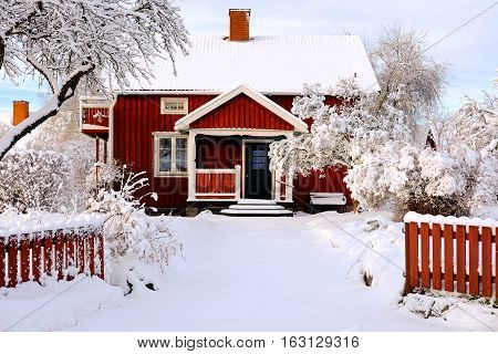 Winter and snow come with Winter season in Scandinavian countries.