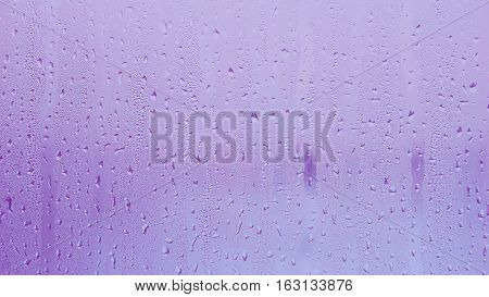 purple water from rain drop texture background