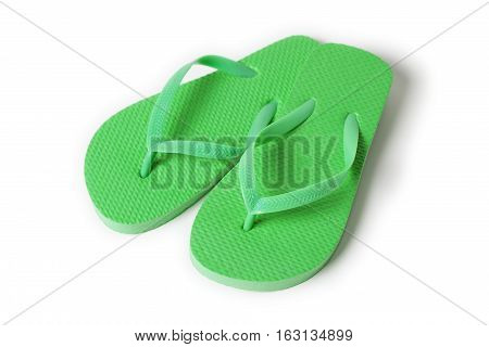 Flip Flop Sandals isolated on white background