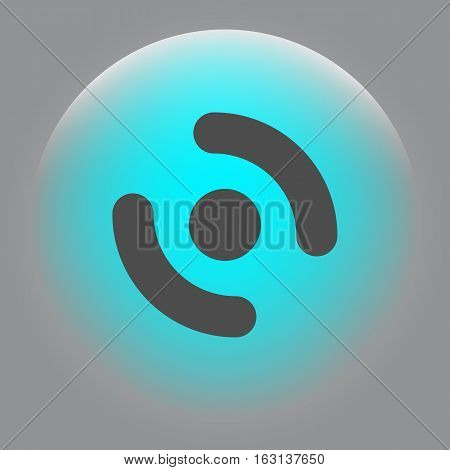 Smart Phone Vibrating Icon